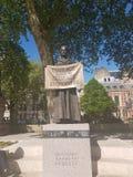 Escultura de la sufragista en Londres Foto de archivo