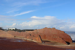 A escultura de Lakeland abate no passeio de Morecambe Imagens de Stock Royalty Free