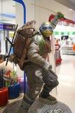 Escultura de Leonardo de TMNT Fotos de archivo libres de regalías