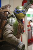 Escultura de Leonardo de TMNT Foto de Stock