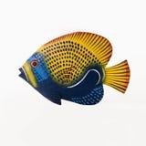 Escultura de los pescados. foto de archivo