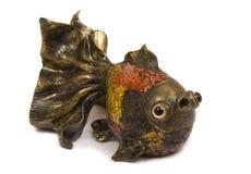 Escultura de los pescados Fotos de archivo