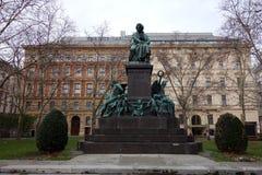 Escultura de Ludwig van Beethoven en Viena fotografía de archivo libre de regalías