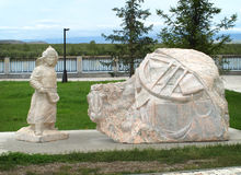 Escultura de mármore Imagem de Stock