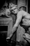 Escultura de mármore David por Gian Lorenzo Bernini Imagens de Stock Royalty Free