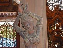 Escultura de madeira no santuário da verdade Imagem de Stock