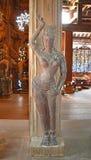 Escultura de madeira no santuário da verdade Fotografia de Stock