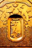 Escultura de madera de la arca del ` s de Noah Imágenes de archivo libres de regalías