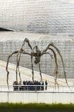 Escultura de Maman, por Louise Bourgeois, museu de Guggenheim, Bilbao Foto de Stock