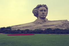 Escultura de Maozedong Imagem de Stock