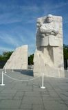 Escultura de Martin Luther King fotografia de stock