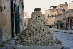 Escultura de Matera Foto de Stock Royalty Free