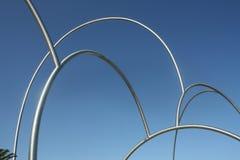 Escultura de Onades en Barcelona, España Fotografía de archivo