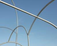 Escultura de Onades (ondas) cosechada Imágenes de archivo libres de regalías