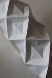 Escultura de papel Imagen de archivo libre de regalías