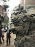 Escultura de pedra bonita Fotografia de Stock