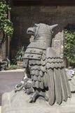 Escultura de pedra dos pássaros imagem de stock royalty free