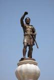 Escultura de Philip II Macedon en Skopje Imágenes de archivo libres de regalías