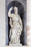 Escultura de Philip Neri Italian Baroque del santo fotografía de archivo libre de regalías