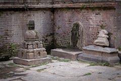 Escultura de piedra de la diosa Foto de archivo libre de regalías