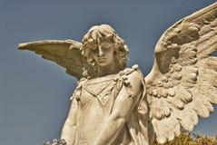Escultura de piedra del ángel Foto de archivo