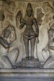 Escultura de piedra en Chennai la India Imagen de archivo libre de regalías