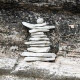 escultura de piedras Fotografía de archivo libre de regalías