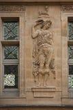 Escultura de quatro estações por Jean Goujon Fotografia de Stock Royalty Free