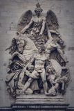 Escultura de Résistance de 1814 del La en Arc de Triomphe en París Fotos de archivo libres de regalías
