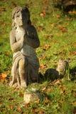 Escultura de rogación del niño Fotografía de archivo libre de regalías