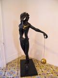 Escultura de Salvador Dali Fotos de archivo libres de regalías