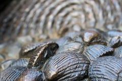 Escultura de Shell en Oxford fotografía de archivo libre de regalías