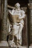 Escultura de St Matthew foto de stock