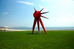 Escultura de Sun Fotografia de Stock