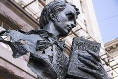 Escultura de Taras Shevchenko fotografia de stock
