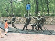 Escultura de Tianjin foto de stock royalty free