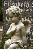 Escultura de um anjo Fotos de Stock