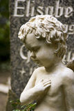 Escultura de um anjo Foto de Stock Royalty Free