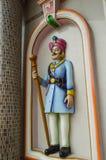 Escultura de um protetor Fotos de Stock Royalty Free