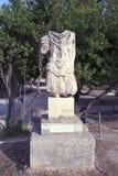 Escultura de um soldado decapitado de Roman Empire antigo, Atenas foto de stock royalty free