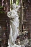 A escultura de uma menina Fotografia de Stock