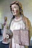Escultura de uma mulher imagem de stock