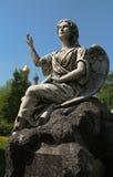 Escultura de un ángel Fotos de archivo
