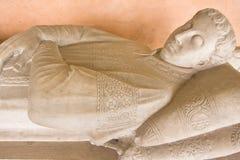 Escultura de un hombre desconocido Imágenes de archivo libres de regalías