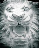 Escultura de un león Fotos de archivo libres de regalías