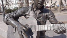 Escultura de un ?ngel en la calle Svetlanskaya Vista de la ciudad