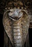 Escultura de una serpiente de la cobra Imagenes de archivo