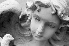 Escultura del ángel Fotografía de archivo libre de regalías