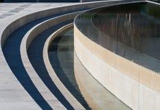 Escultura del agua Fotografía de archivo libre de regalías