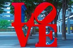 Escultura del amor Fotos de archivo libres de regalías